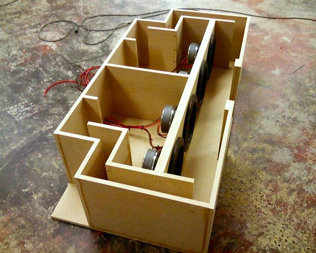 Как сделать короб для динамиков